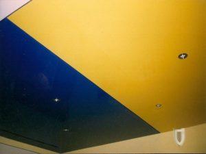 Эксклюзивные потолки - Спайка полотен